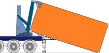 20' ISO Container Handling Unit with rotating lift arm
